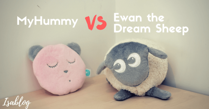 MyHummy or Ewan the Dream Sheep – Which White Noise Sleep Aid?