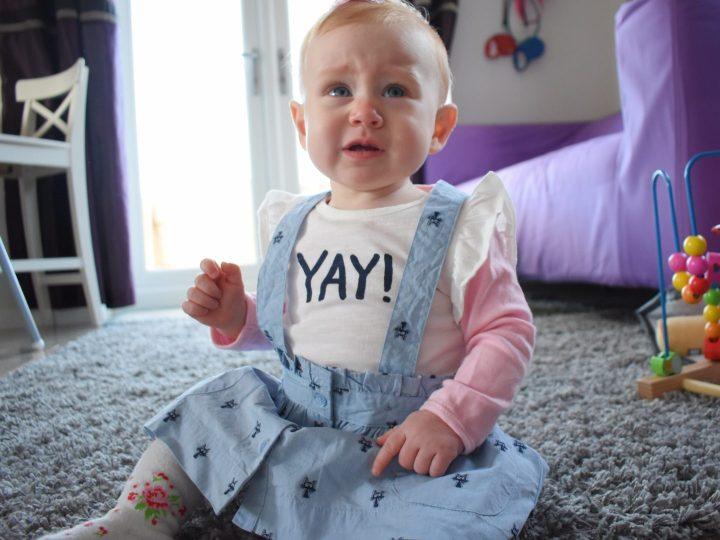 #MySundayPhoto - baby ironically dressed