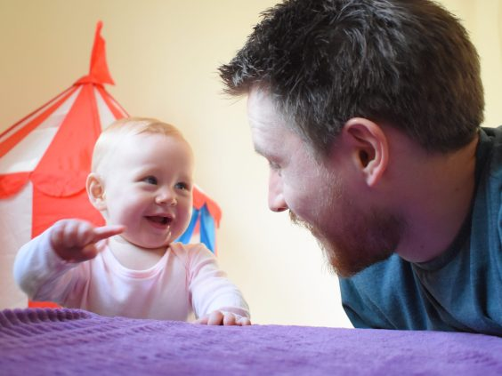 A Letter to My Baby - We didn't always look at each other like this