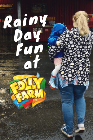 Rainy Day Fun at Folly Farm - we recently visited Folly Farm in West Wales and it was a miserable, rainy day. But luckily Folly Farm still have plenty of hand to do with despite the awful weather!