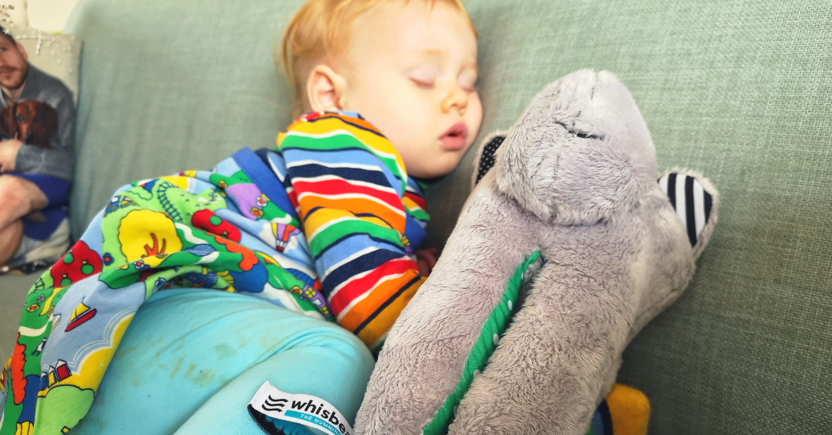 Whisbear Review: The Humming Bear White Noise Toy to Help with Sleep