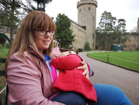 Breastfeeding at Warwick castle