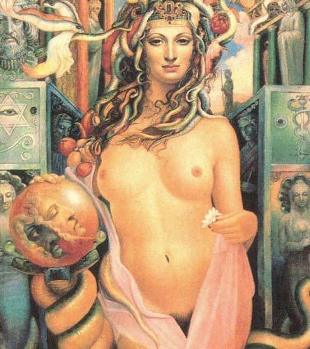 Картина «Магия» художника Александра Исачева.