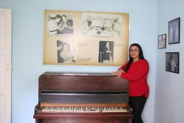 Esse piano faz parte da história de Roberto Carlos