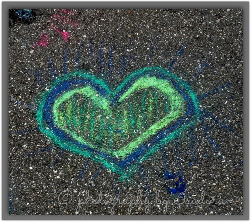 Street Art blue heart.web