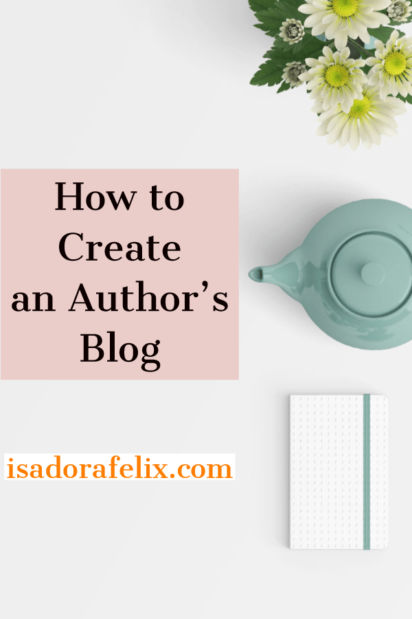 How to Create an Author's Blog