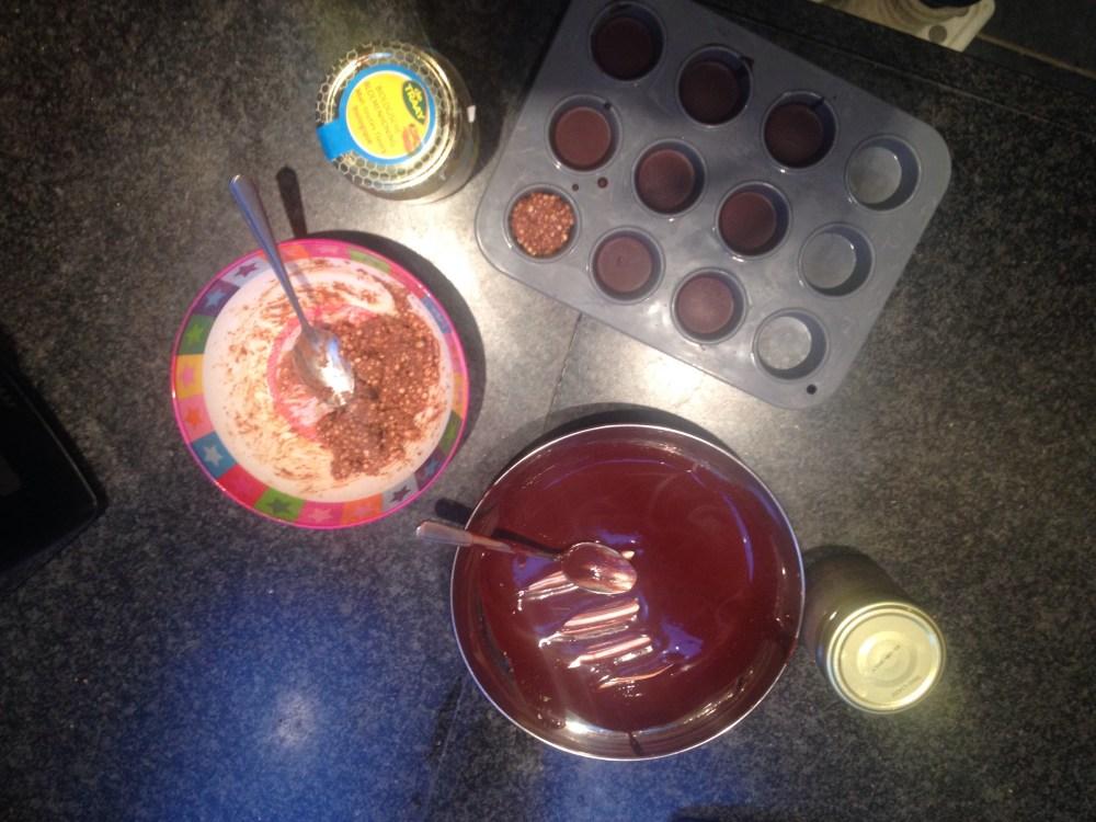 Amandel quinoa chocoladerotsjes (2/2)