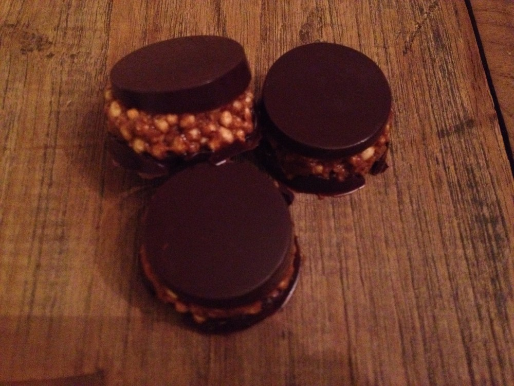 Amandel quinoa chocoladerotsjes (1/2)