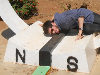 Have you ever licked the equator?