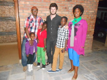My home stay family on our last night together before I moved into my apartment with Drew. The whole family will be together again at our home stay party the night before I leave Kigali.