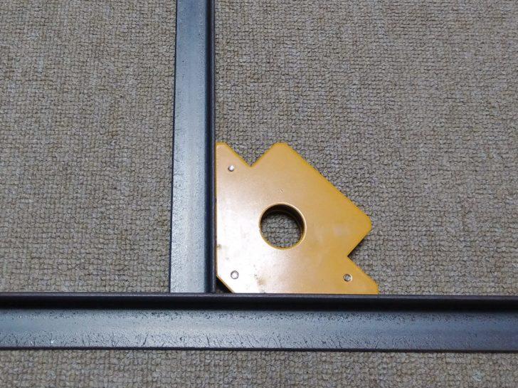 溶接マグネット 正確な直角を保持
