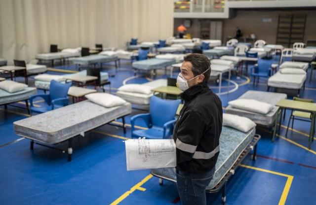 Hospitales de campaña, centros médicos efímeros para paliar la ...