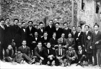 Foto di gruppo dei socialisti di Potenza Picena