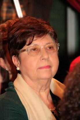 La Sig.ra Augusta Borroni, moglie di Antonio Giannini. Foto di Aido Consolani.