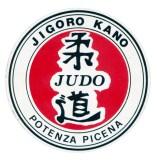 Logo adesivo della Soc. di Judo Jigoro Kano di Potenza Picena.