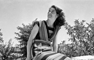Giulia Domenichini. Proprietà Fototeca Comunale B. Grandinetti.