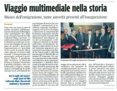 Corriere Adriatico Cronaca locale del 10-12-2013.