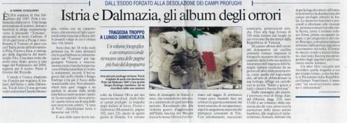 Articolo tratto del Messaggiero di Roma 2011.