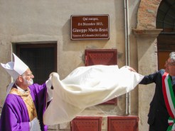 Commemoriazione di Mons. Giuseppe Maria Bravi presso la Chiesa d