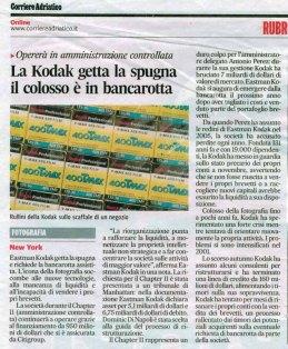 Corriere Adriatico - del 20-01-2012.