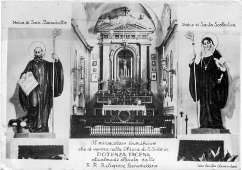 Interno della Chiesa di San Sisto