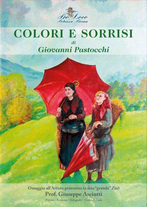 """Copertina del libro """"Colori e Sorrisi"""" di Giovanni Pastocchi."""