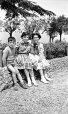 Da sx Sergio Clementoni, Maroa Clementoni e Beatrice Bianchi al Pincio.