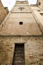 Torre civica vista dal versante di via Mariano Cutini. Foto Sergio Ceccotti.