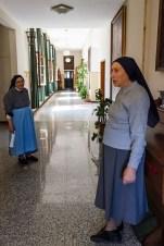 Momenti di vita quotidiana all'interno dell'Istituto delle Figlie dell'Addolorata di Potenza Picena. Foto Sergio Ceccotti.