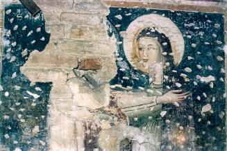 Affresco del Sec. XIV - Chiesa S. Francesco - Foto B. Grandinetti - ASCPP