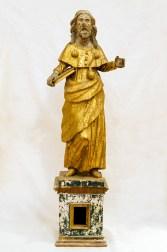 Statue lignee dorate Sec. XVII. Foto Sergio Ceccotti