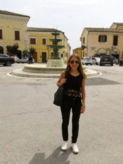 Visita di Melisa Tramannoni a Potenza Picena il giorno 1/7/2016. Foto di Melisa Tramannoni.