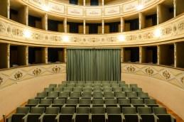 Teatro Bruno Mugellini Potenza Picena. Foto Sergio Ceccotti.