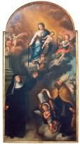 Madonna col Bambino e i Santi Monica e Agostini - sec. XVIII - foto luigi anzalone