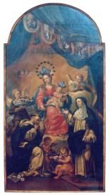Vergine del Rosario - Sec. XVIII - f.lli Ricci Filippo ed Alessandro di Fermo - foto luigi anzalone