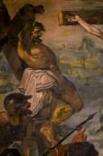 Il Calvario part. inizi Sec. XVII autore ignoto. Foto Sergio Ceccotti.