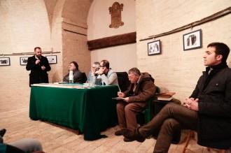 Parla l'Assessore Paolo Scocco alla presentazione libro Vincenzo Varagona su p. Pietro Lavini. 11-12-2016. Foto Jonathan Micucci.