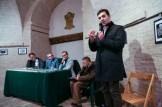 Intervento del Sindaco Francesco Acquaroli alla presentazione libro Vincenzo Varagona su p. Pietro Lavini. 11-12-2016 Foto Jonathan Micucci.