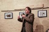 Prof. Silvano Domenichi alla presentazione libro Vincenzo Varagona su p. Pietro Lavini. 11-12-2016 Foto Jonathan Micucci.