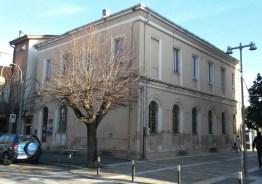 Palazzina della Delegazione Comunale lato Via Duca degli Abruzzi. Foto di Michele Emili.