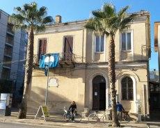 Palazzina della Delegazione Comunale lato Viale Regina Margherita. Foto di Michele Emili.