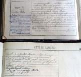 Atto di nascita di Clito Carestia del 2 aprile 1904. Luigino Garbuglia - Stato Civile di Potenza Picena.