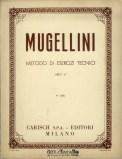metodo di esercizi tecnici di Bruno Mugellini Copertina libro V°