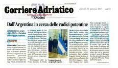 Corriere Adriatico 26 gennaio 2017