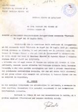 Lettera del 7-10-1997 indirizzata al Sindaco di Potenza Picena per ritrovare la pellicola originale dell'inaugurazione.