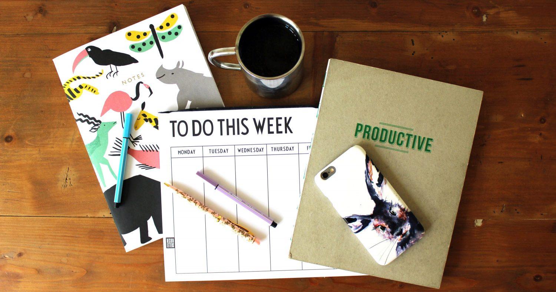 Productivity Week Plan