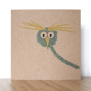 Greetings Card owl 2 Isabell Schulz
