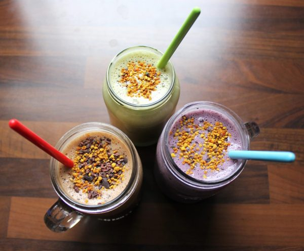 Three Smoothies Finish 2