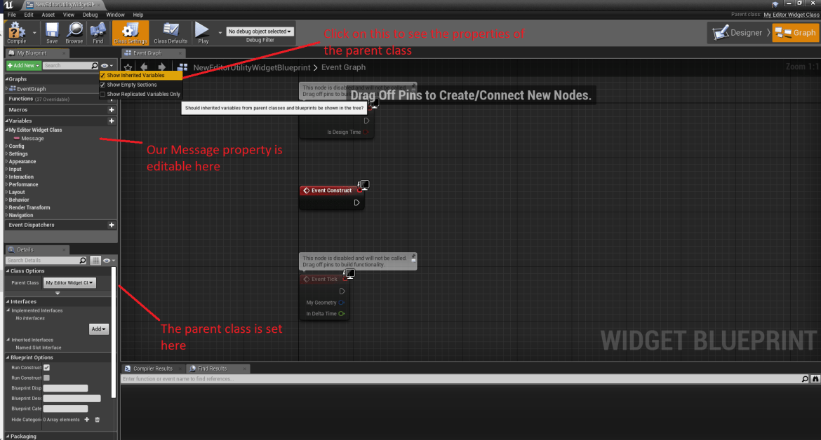 UE4 - Controlling Editor Widgets with C++ (4 22) - Isara Tech