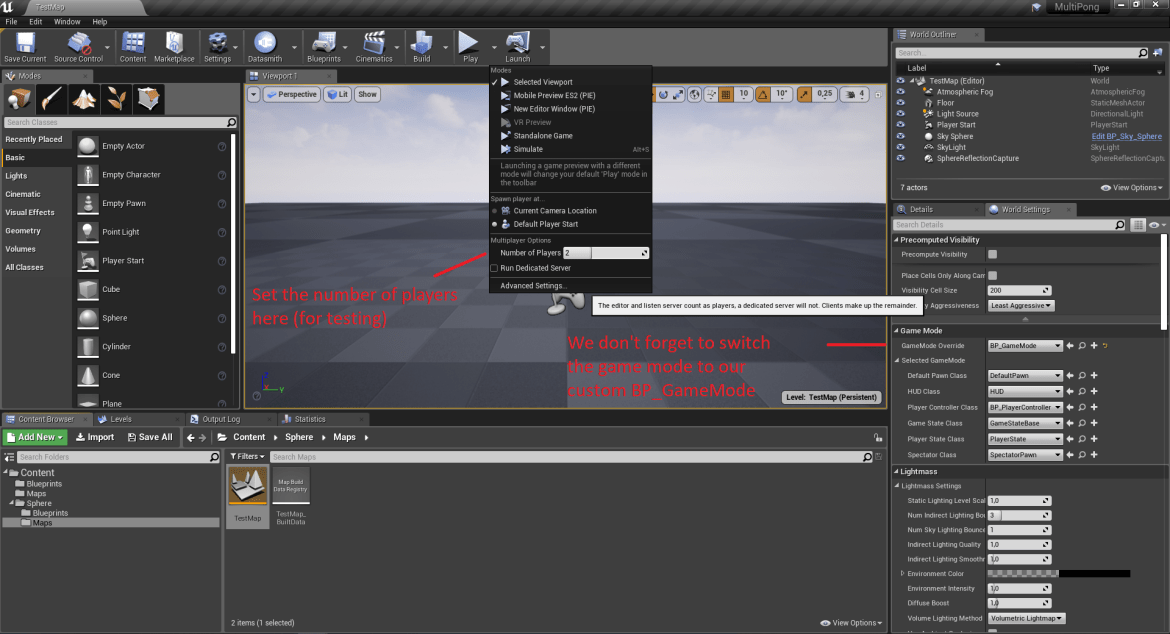 UE4 - Network Multiplayer in Blueprints - Getting Started